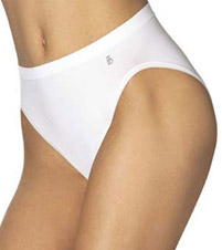 Flawless Fit Microfiber Hi-Cut Panty